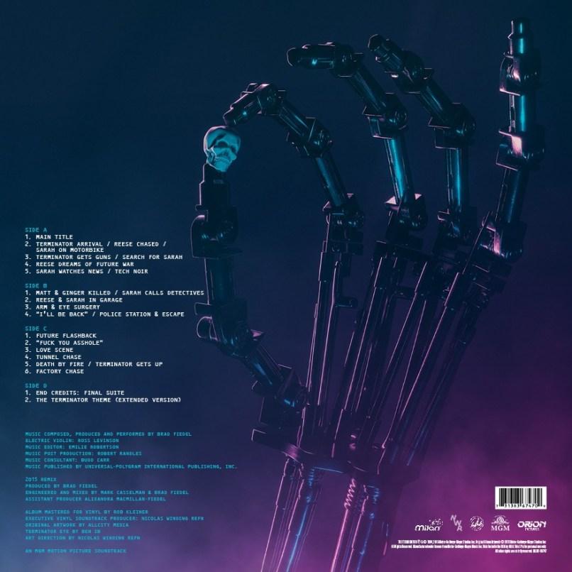 the terminator brad fiedel Stream + Interview: Brad Fiedels The Terminator Original Motion Picture Soundtrack