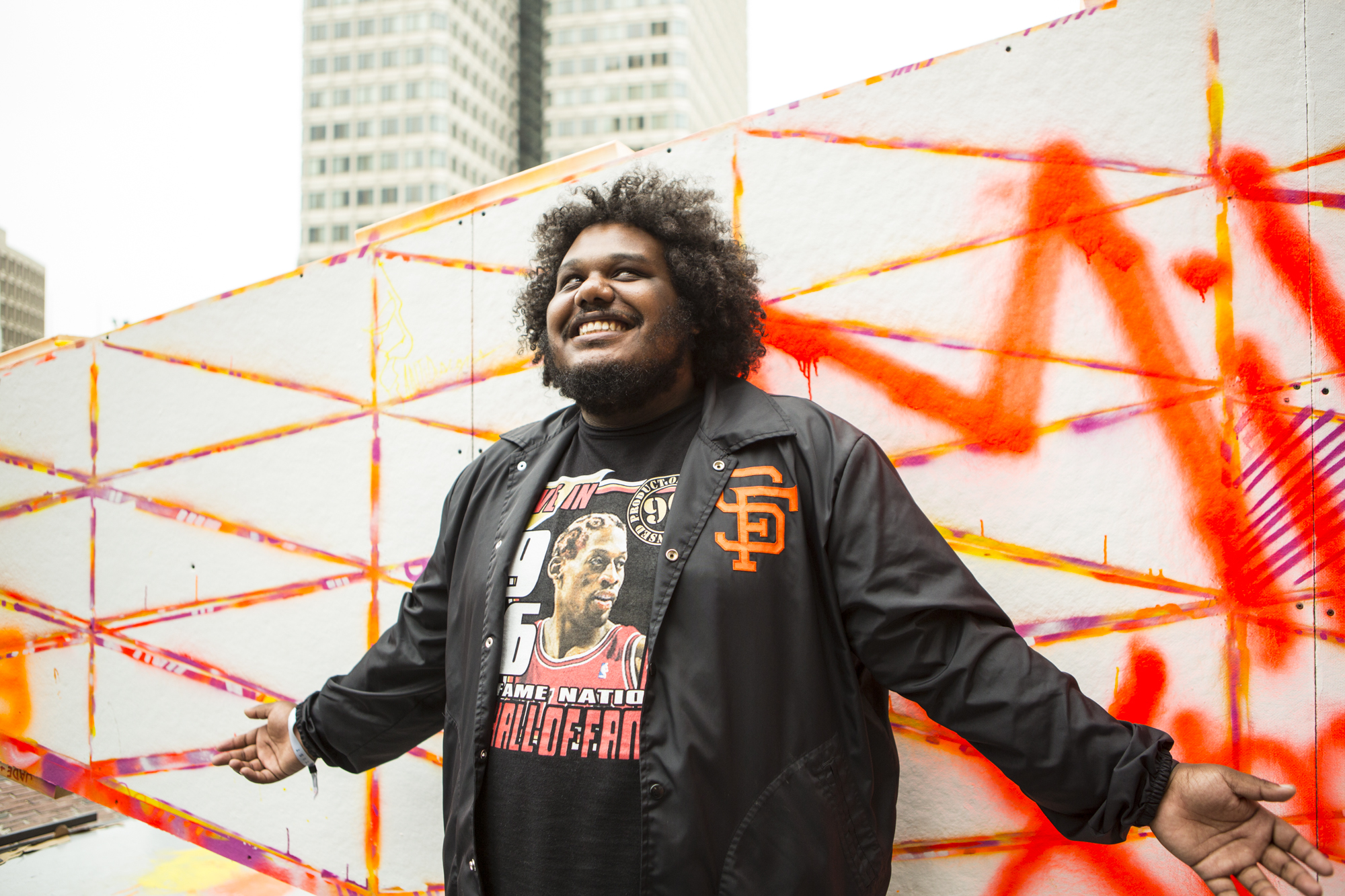 Michael Christmas // Photo by Philip Cosores