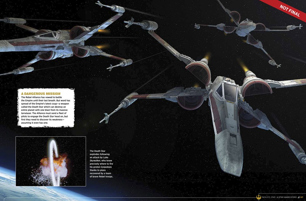 9781942556411 il 2 d8f4f Star Wars: Rogue One character details, new ships revealed in leaked visual guide