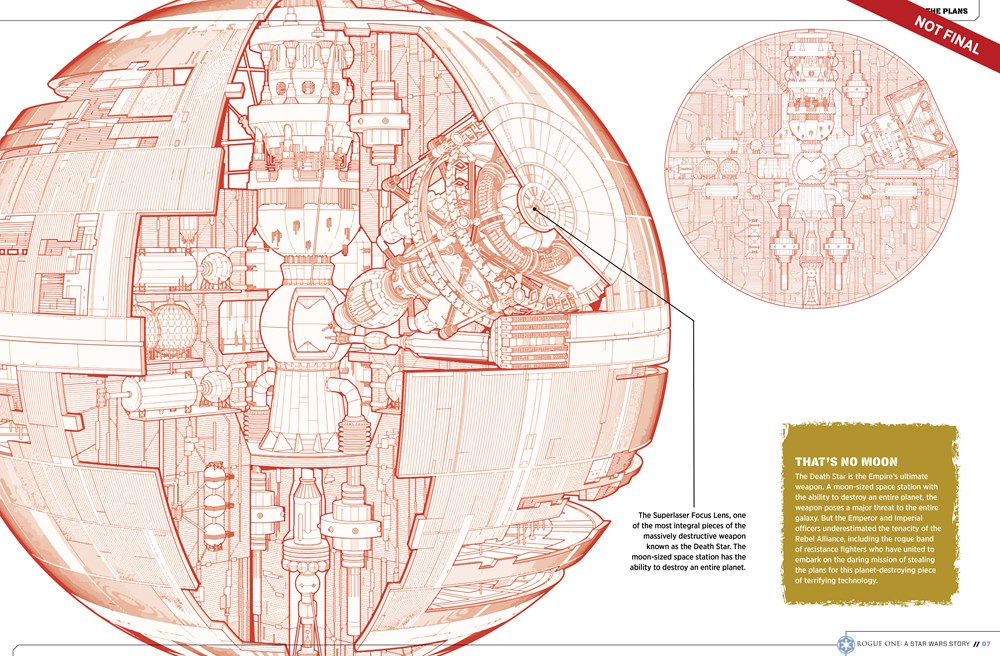 9781942556411 il 5 0d612 Star Wars: Rogue One character details, new ships revealed in leaked visual guide