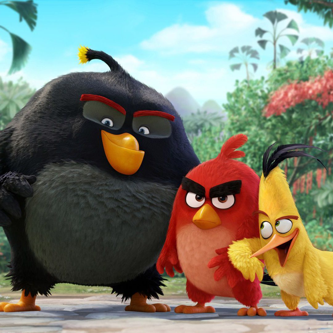 the angry birds movie red