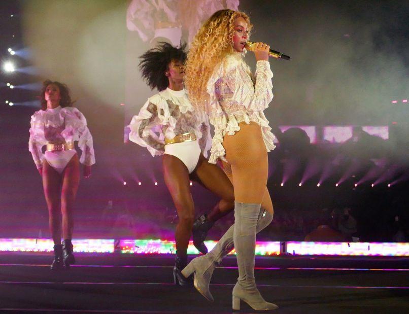 Beyonce - Photo by David Brendan Hall