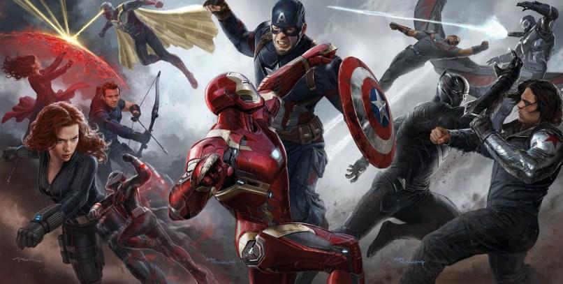 captain america civil war art Top 10 Films of 2016 (So Far)