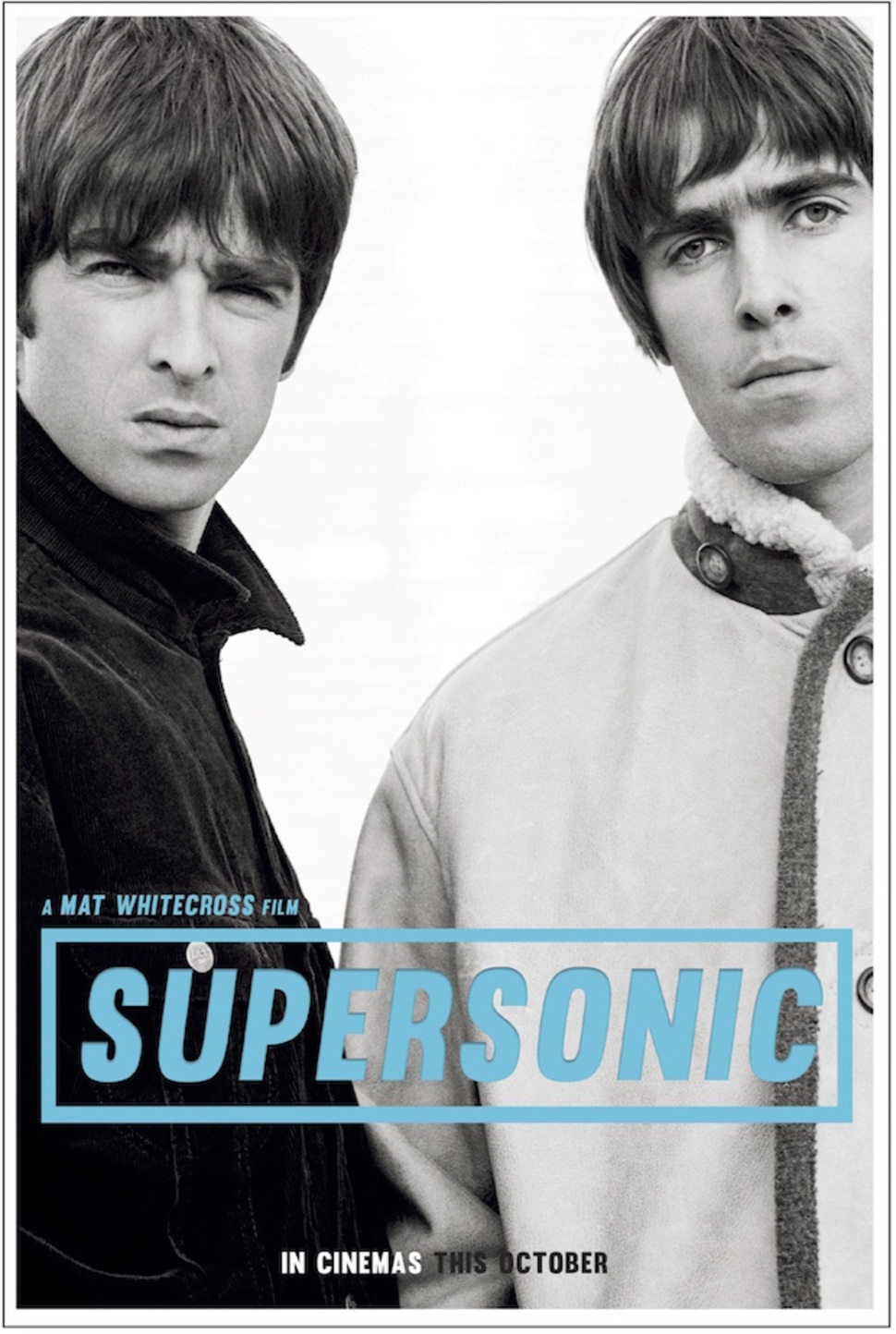 oasisdocsupersonicposter2016 Oasis documentary Supersonic coming from Amy filmmakers this fall