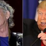 Trump Keith Richards