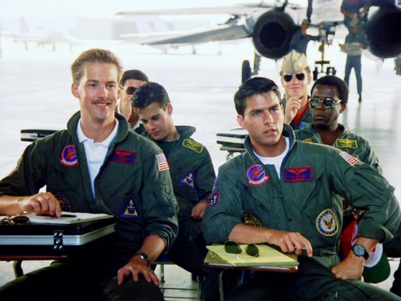top gun cruise edwards Top Gun and the End of the Homoerotic Action Movie