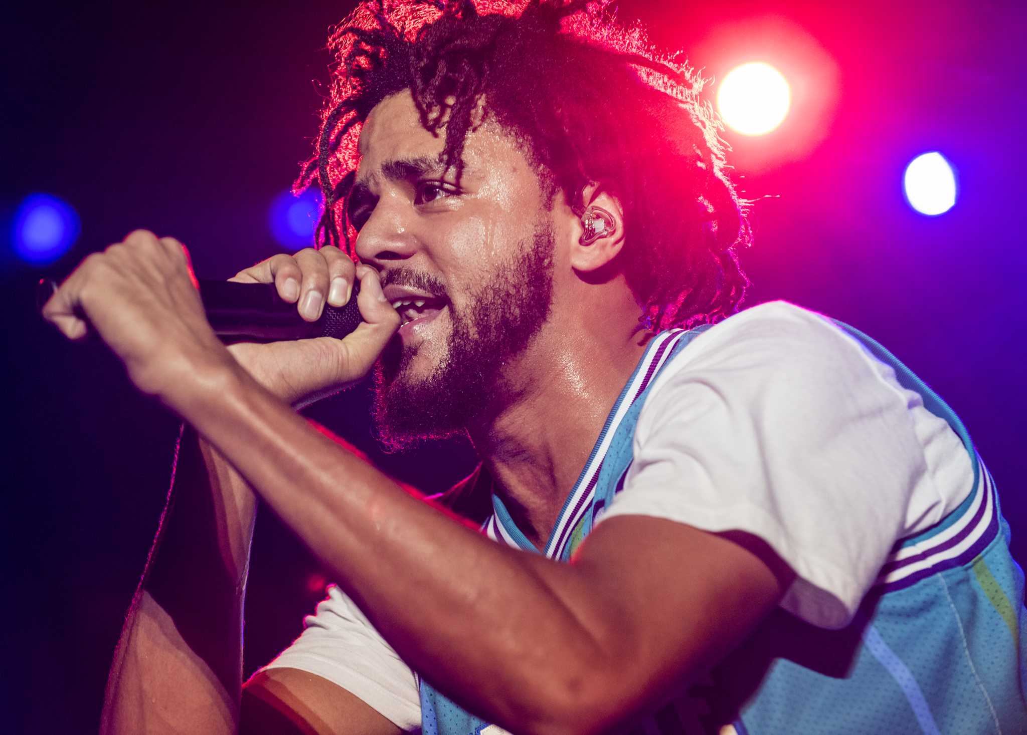 J. Cole, photo by David Brendan Hall
