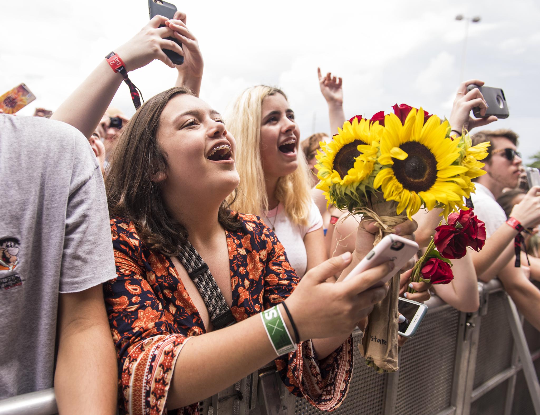 Free Press Summer Festival // Photo by David Brendan Hall