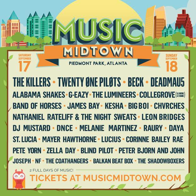 image007 Atlantas Music Midtown reveals 2016 lineup
