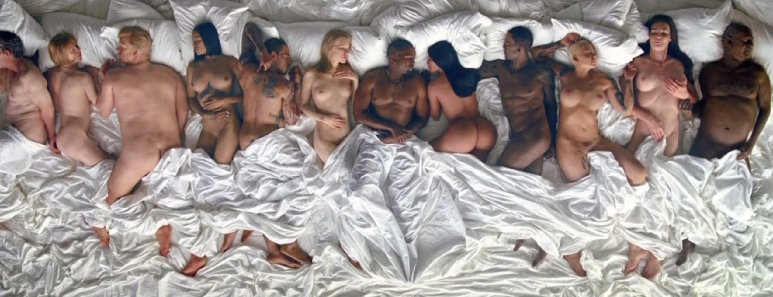 kanye famous video George W. Bush responds to Kanye Wests Famous video