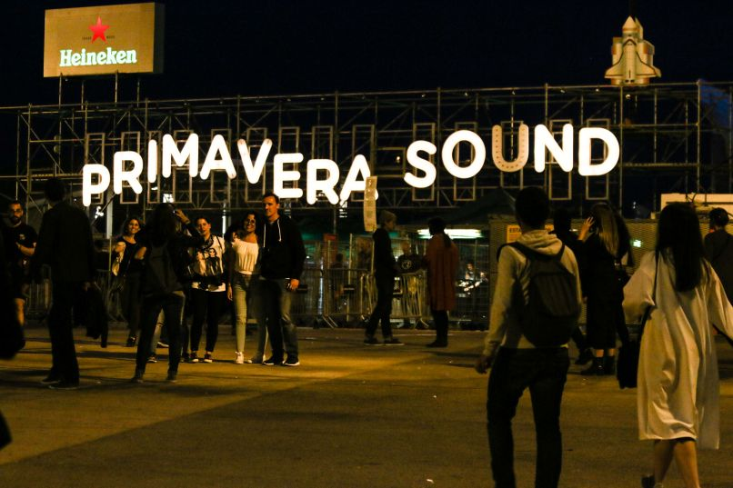 Primavera Sound // Photo by Nina Corcoran