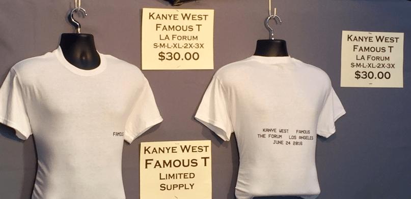 Kanye merch