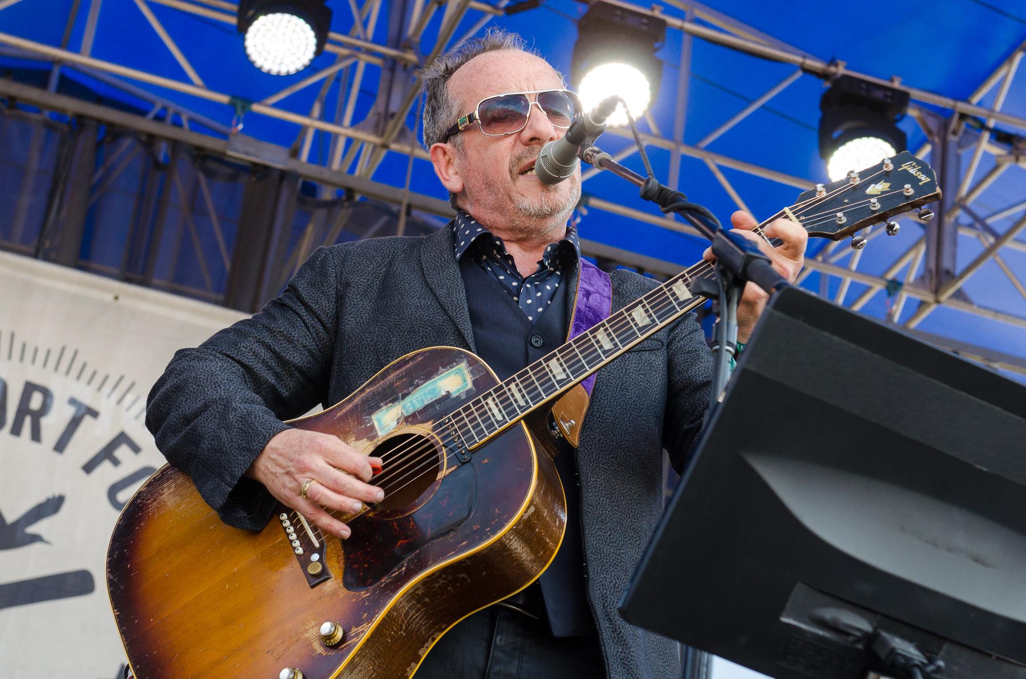 Elvis Costello // Photo by Ben Kaye
