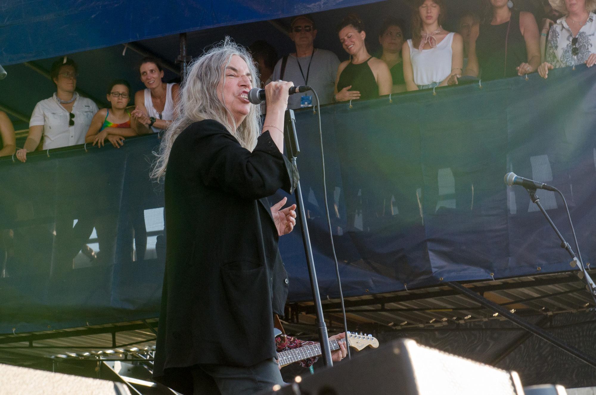 Patti Smith // Photo by Ben Kaye