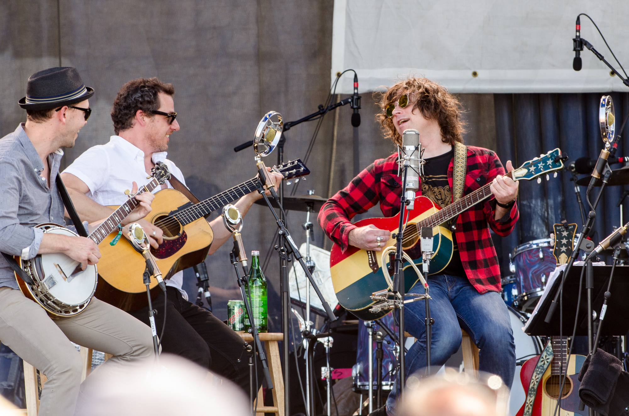 Ryan Adams with The Infamous Stringdusters featuring Nicki Bluhm // Photo by Ben Kaye