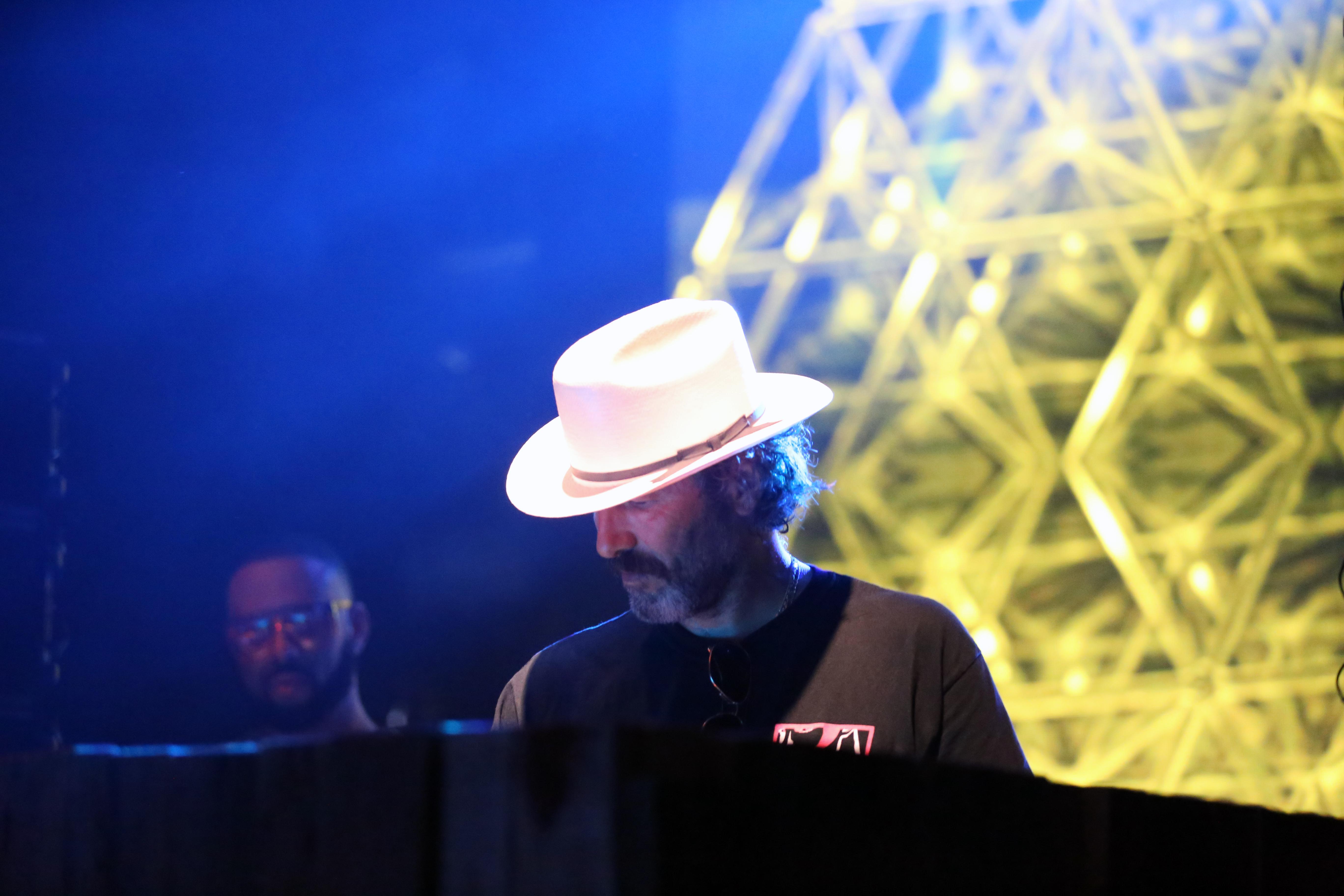DJ Harvey // Photo by Killian Young
