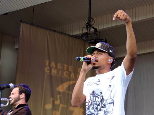 Chance the Rapper // Photo by Corbin Reiff