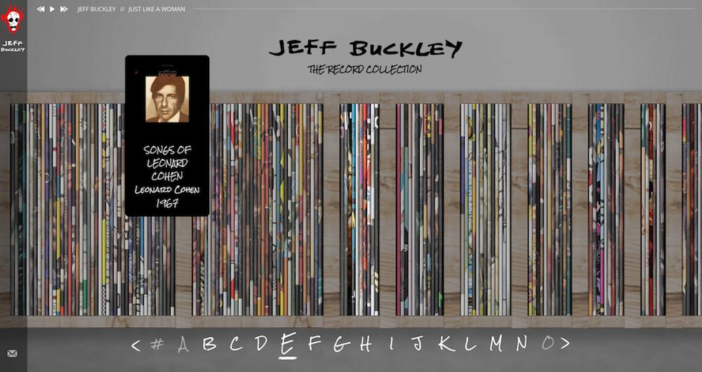 jeff buckley record vinyl collection online Jeff Buckleys vinyl record collection is available to stream online