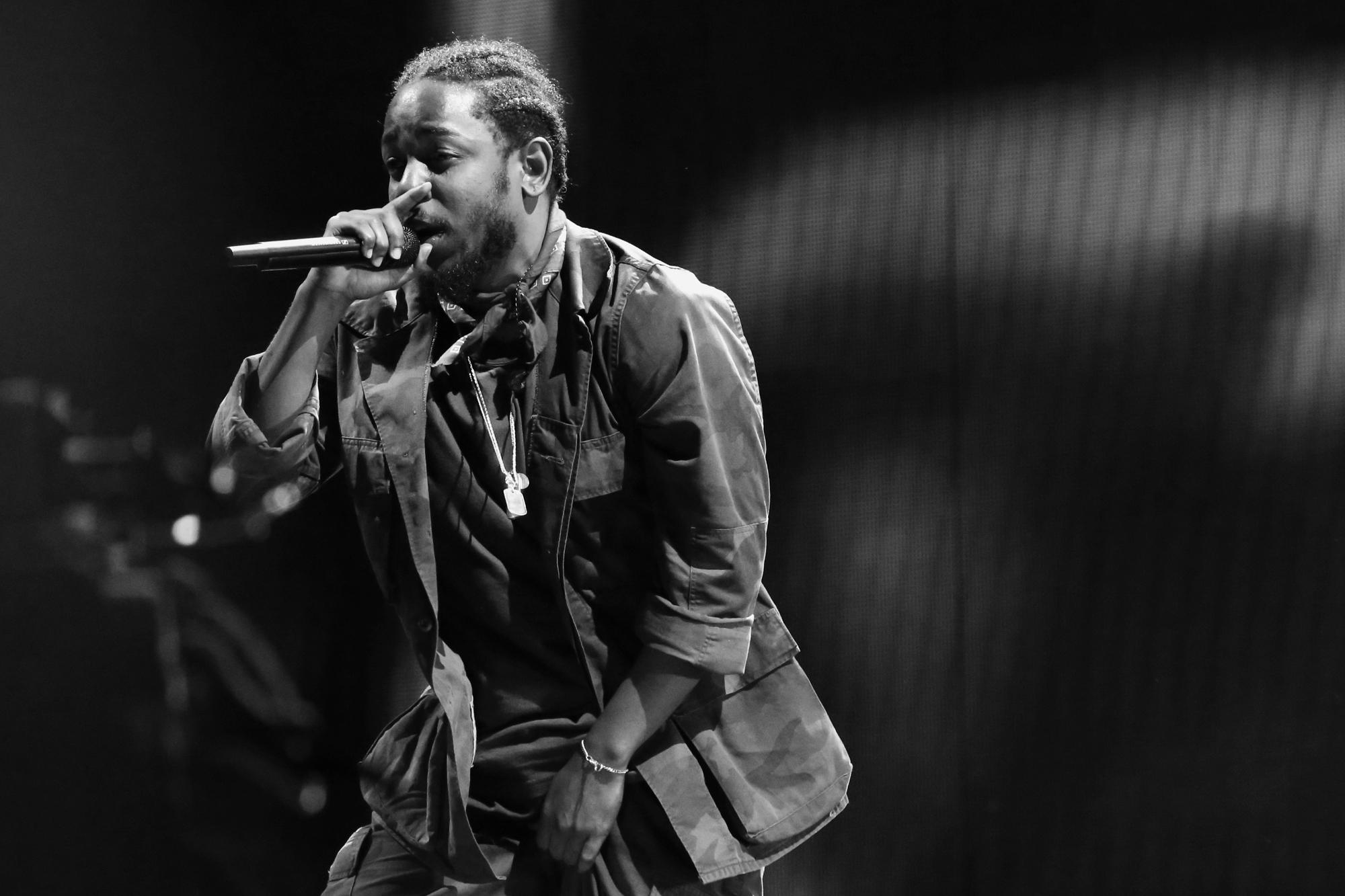 Kendrick Lamar // Photo by Killian Young