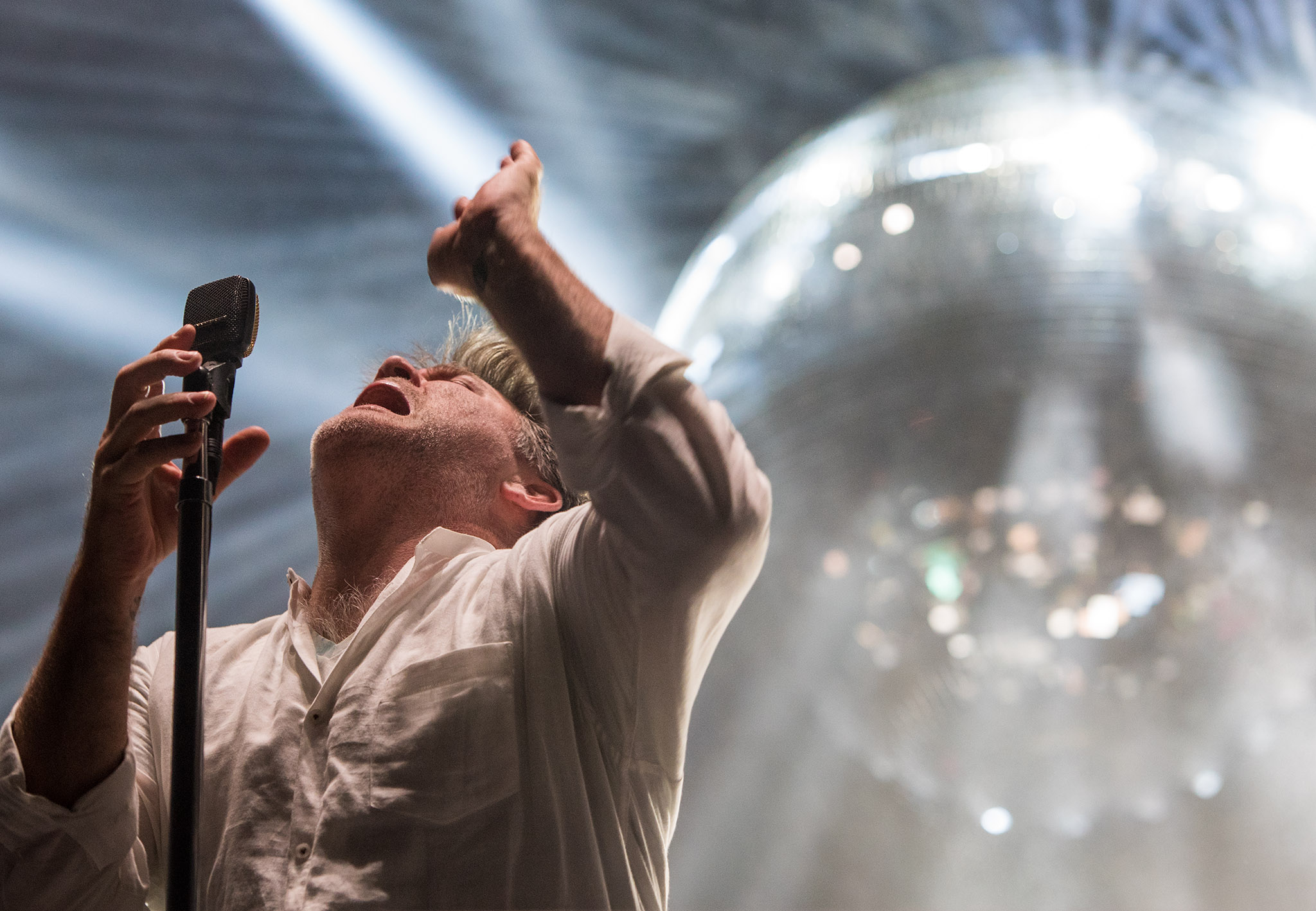 LCD Soundsystem, photo by David Brendan Hall