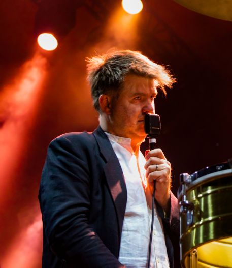 LCD Soundsystem // Photo by Lior Phillips