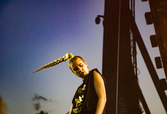 MØ // Photo by Lior Phillips