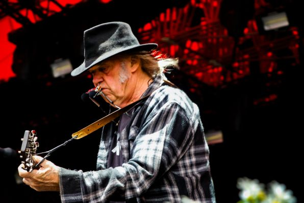 Neil Young // Photo by Lior Phillips