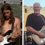 Gilmour then and now