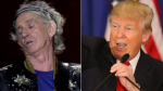 Keith Richards Donald Trump