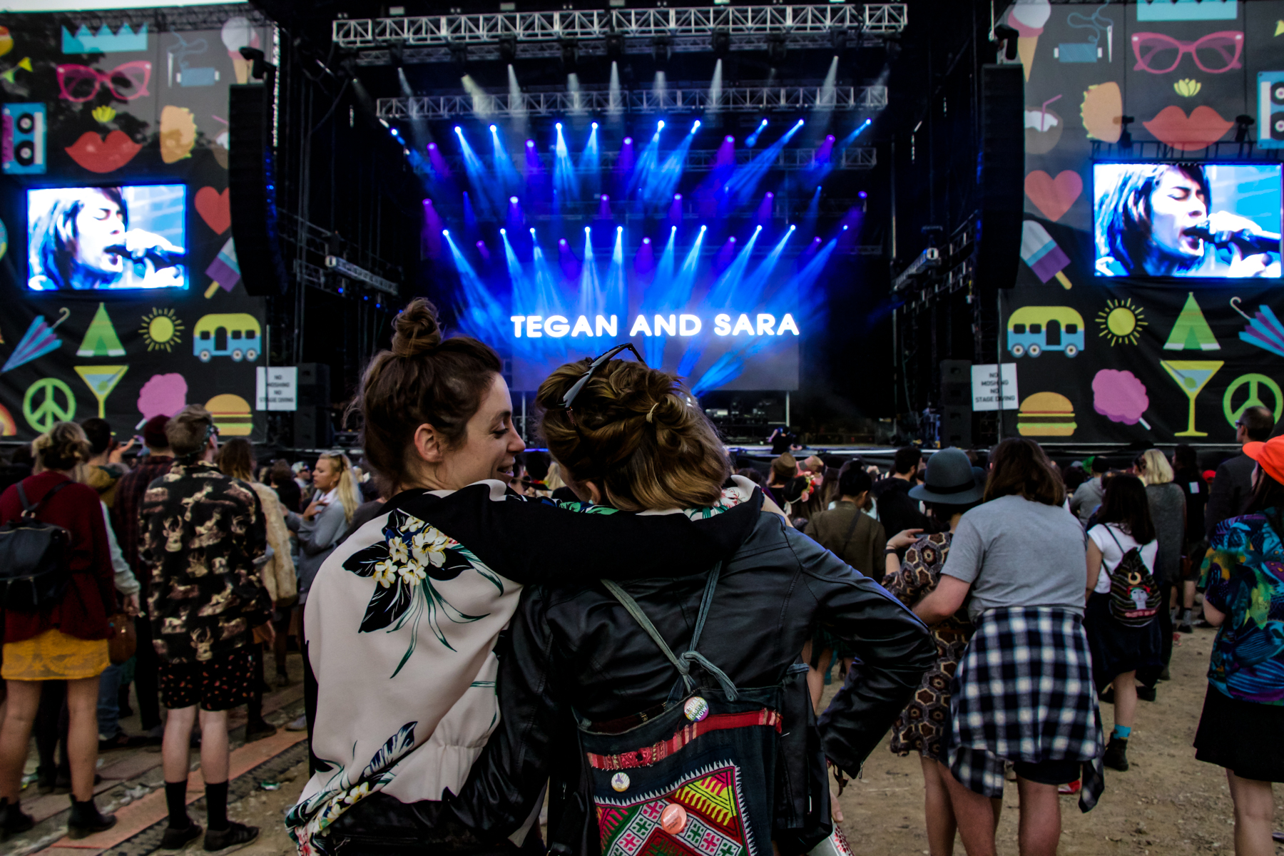 Tegan and Sara // Photo by Lior Phillips