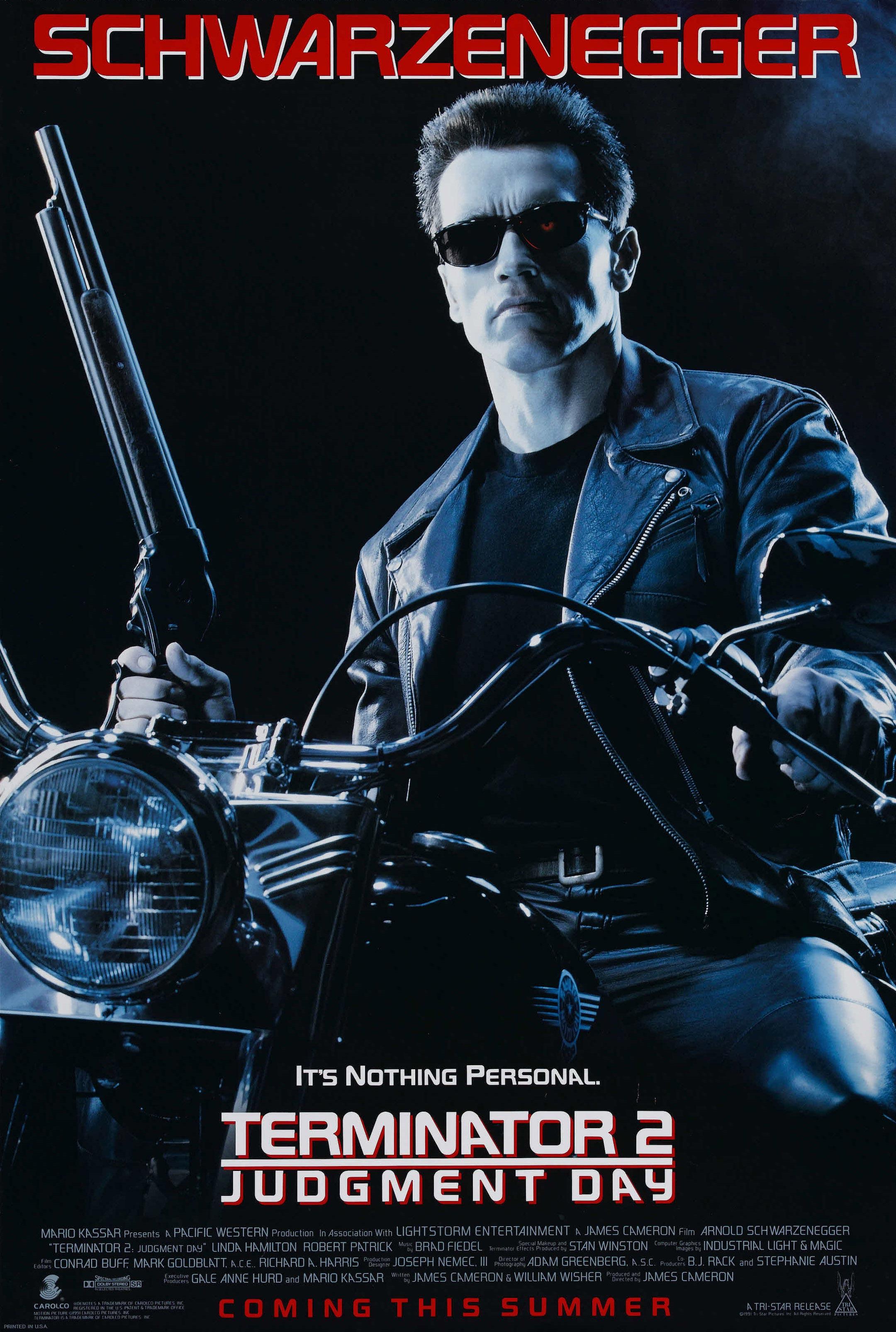b1e3cf03 terminator 2 one sheet high resolution Terminator 2: Judgment Day Turns 25:  Better than