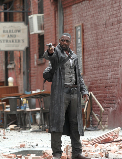 the dark tower Idris Elba, Matthew McConaughey detail Stephen Kings The Dark Tower