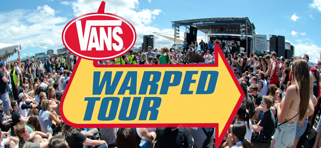 warped tour header The 100 Best Pop Punk Bands