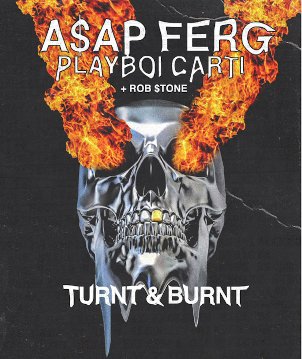 asap ferg turnt burnt ASAP Ferg plots North American tour