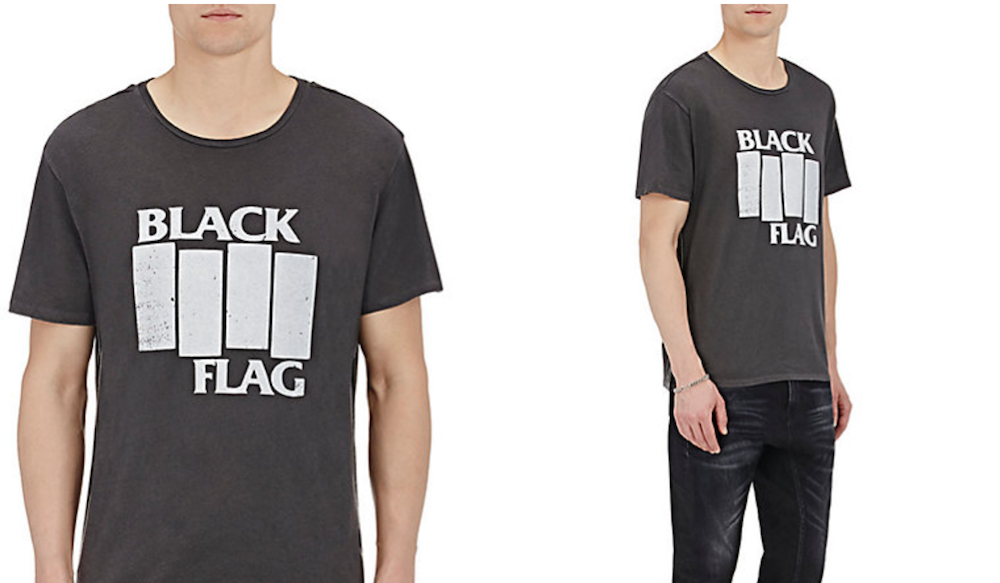 acb7b55e Barneys is selling obscenely expensive band t-shirts - Consequence ...
