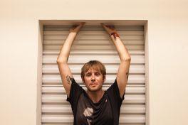 Geoff Rickly // Photo by Carlo Cavaluzzi