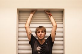 Geoff Rickly // Photo by Carlo Cavaluzzi