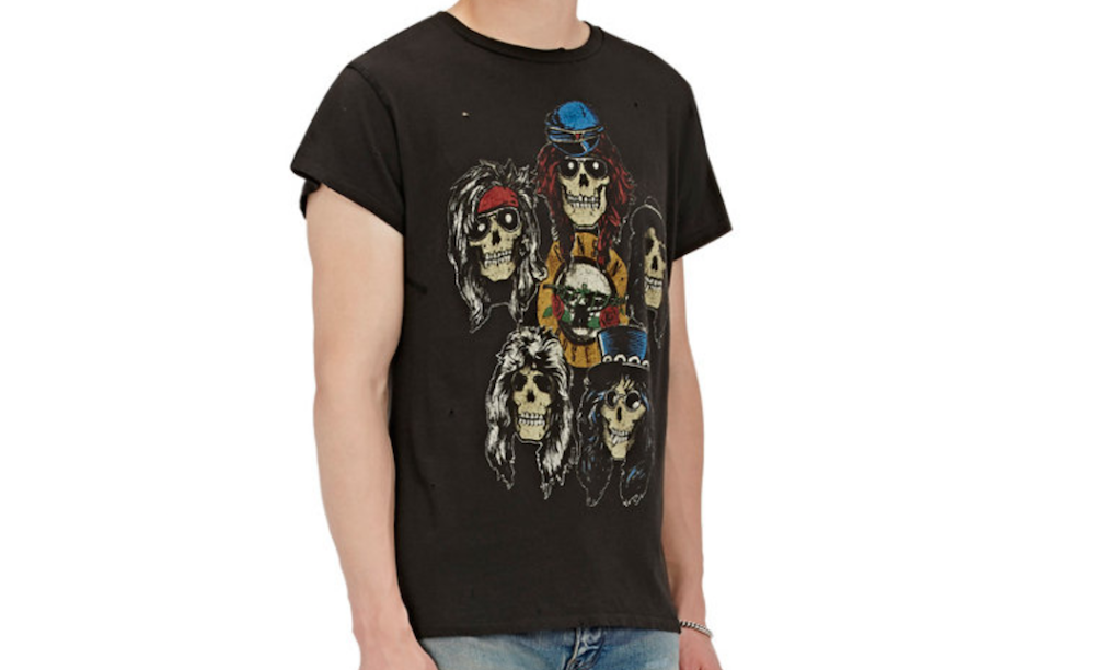 guns roses shirt Barneys is selling obscenely expensive band t shirts
