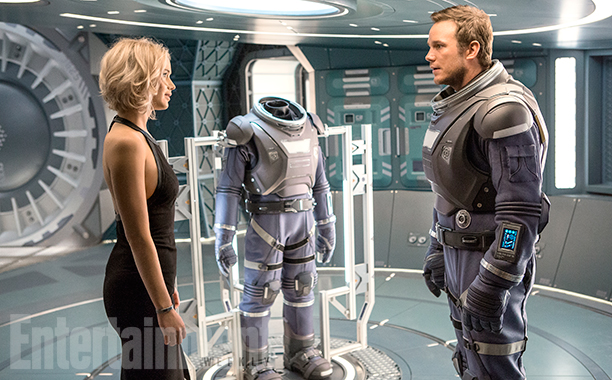passengers Heres our first look at Jennifer Lawrence and Chris Pratt in Passengers