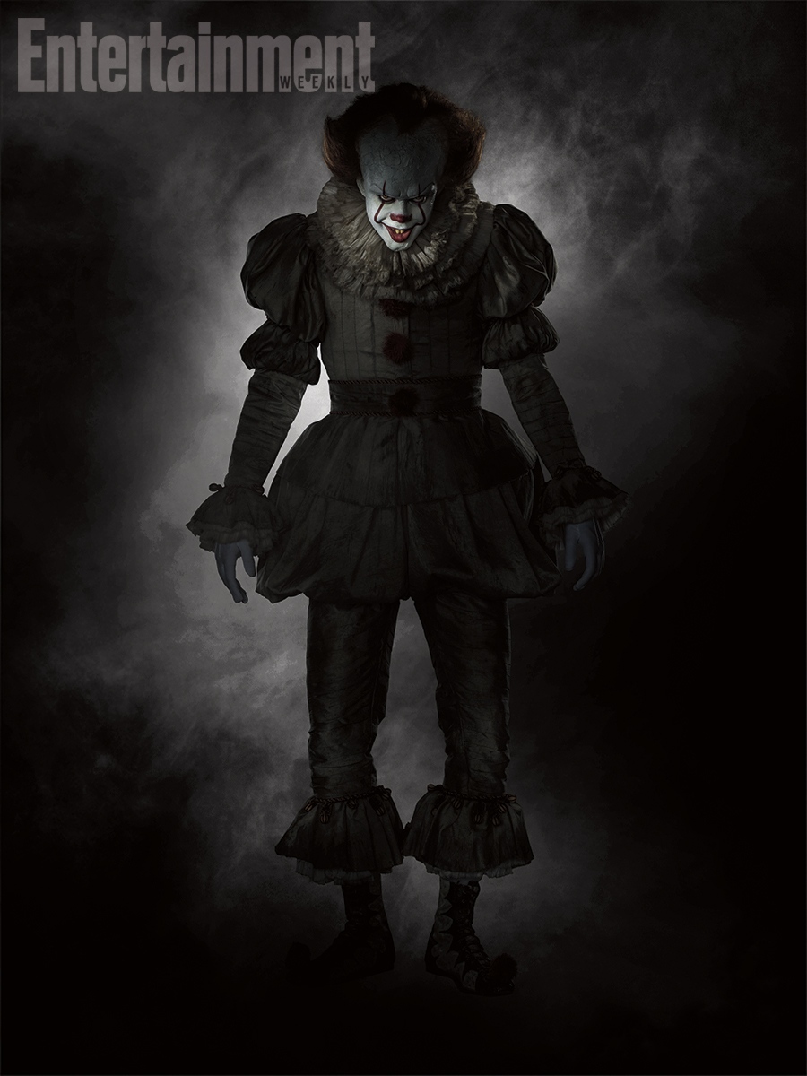 pennywise Pennywise looks absolutely terrifying in the remake of Stephen Kings It