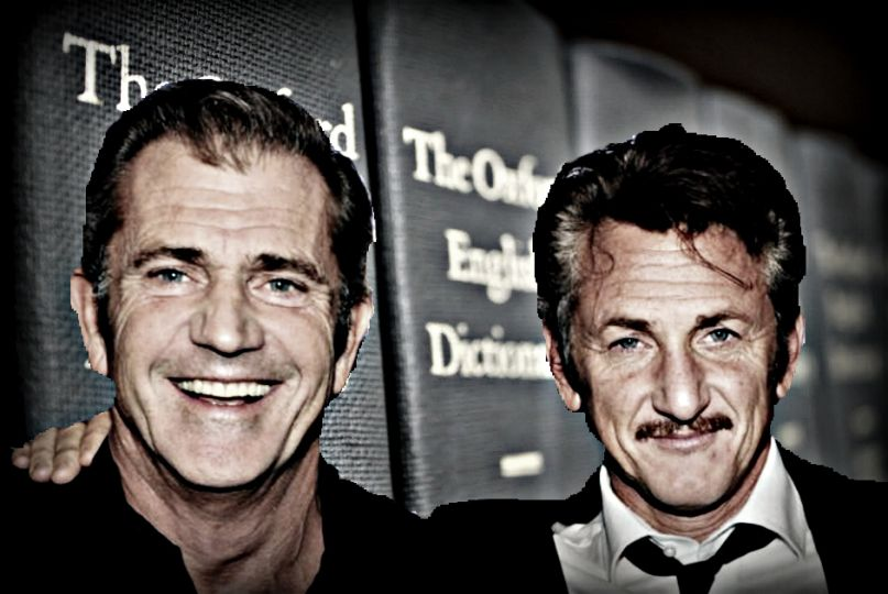 Mel Gibson and Sean Penn to create the dictionary in The Professor