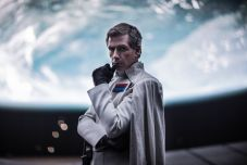 The villainous Director Orson Krennic (Ben Mendeloshn) plots his next move