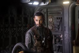 Riz Ahmed as Rebel pilot Bodhi Rook