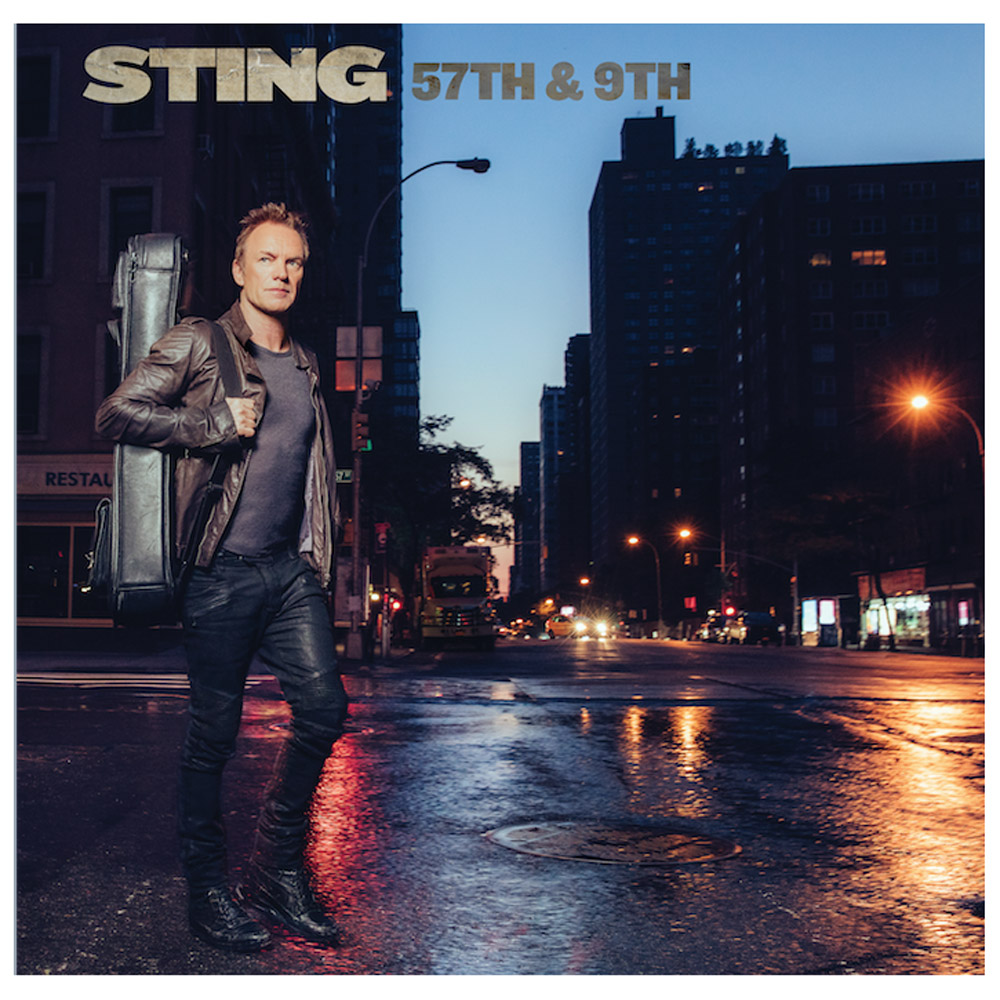 sting 57th and 9th Sting revisits his Police days on new single I Cant Stop Thinking About You    listen