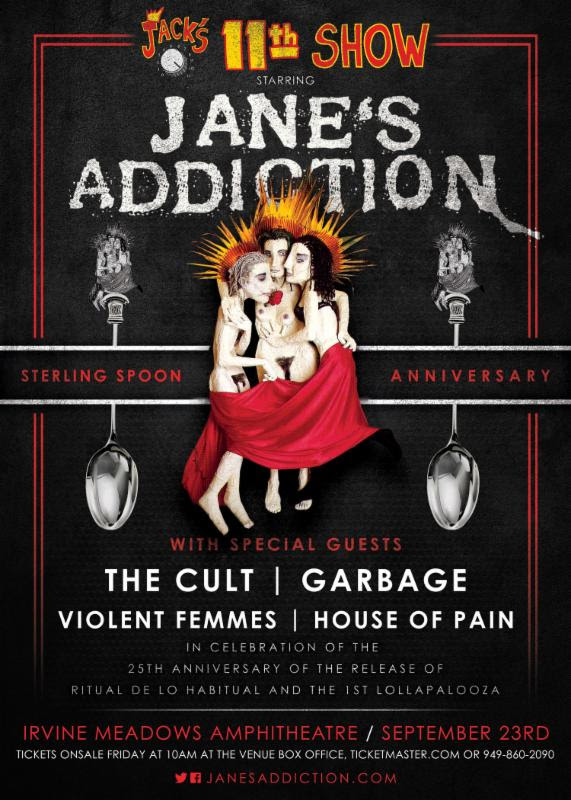 unnamed2 Janes Addictions 25th anniversary concert is basically early Lollapalooza