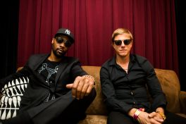 Banks and Steelz // Photo by Philip Cosores