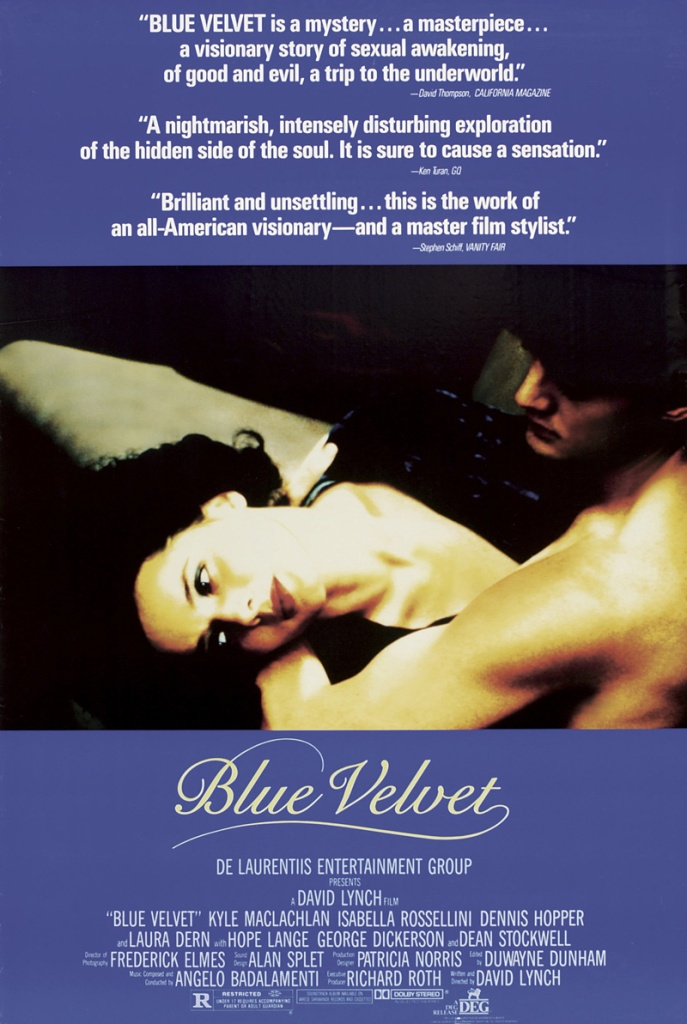 blue velvet Ranking: Every David Lynch Film from Worst to Best