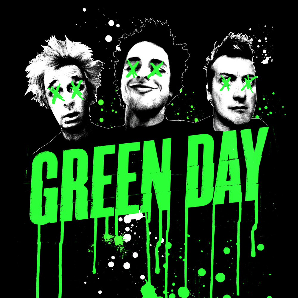 Green Day Pirate Radio Aufn/äher