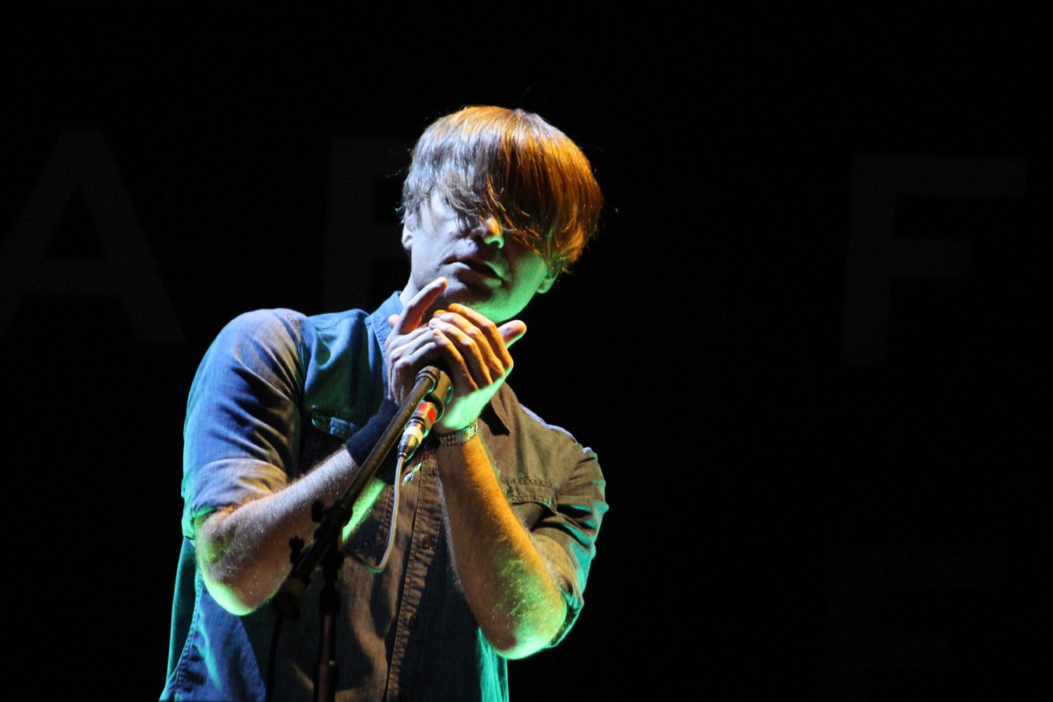 Death Cab for Cutie, Riot Fest 2016, photo by Heather Kaplan