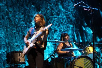 Sleater-Kinney, photo by Heather Kaplan